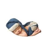 Cx-queen® Baby Photo Prop Crochet Hecho Punto Pantalones De