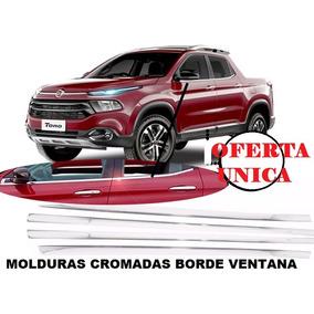 Molduras Cromadas Fiat Toro 4 Ventanas Oferta Remato 3 M 3m