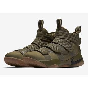 Nike Lebron Soldier 11 olive Basquet Bota Mayma Sneakers