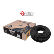 Caja 100 Mts Cable Blanco Thw Cal 12 Awg Indiana 100%cobre