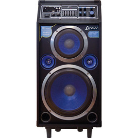 Caixa Amplificada 200w Rms Usb/sd/karaoke/microf Un.
