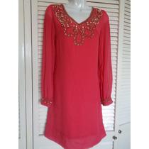 Vestido Talla 0,color Coral.