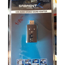 Usb Audio Stereo Sound Adapter