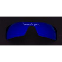 Lente Para Óculos Modelo Oil Rig Neon Blue - Menor Preço