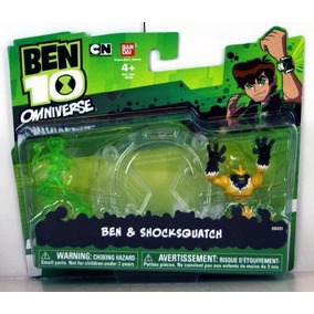 Boneco Ben 10 Ominiverse Ben & Shocksquatch - Bandai