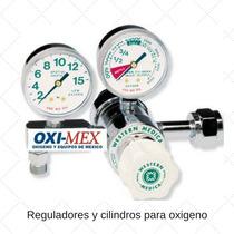 Regulador Para Cilindro De Oxigeno Oximex