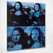 Cuadros- Mona Lisas- Andy Warhol Tela-canvas 70x100 Cm.