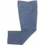 Pantalón De Trabajo Antiácido Tela Grafil Azulino 38al60