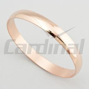Pulsera Esclava Acero Cardinal Rose Ancha Lista Para Regalo