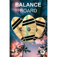 Balance Board Tabla Equilibrio P/ Niños Y Adultos Reciclado