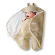 Enterito Porta Enfant Orejitas Corderito Polar Bebé 0 A 6 M+