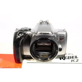 Camara Canon De Rollo Reflex Eos Rebel K2 (oferta Remate)