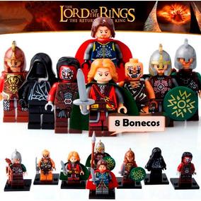 Bonecos Senhor Dos Anéis Lord Of Rings Compatível Lego