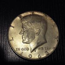 Half Dollar Plata 1968 Y 1966