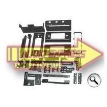 Base Frente Estereo Chevrolet S10 Blazer Truck 82-93 Hf04644