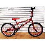Bicicleta 20 Bmx Chromoly Freestyle Street Crank 3ps Maza 9t