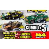 Combo X 3 Replicas Maquetas Autos Coleccion Tc Envio Gratis