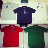 Camisetas Tipo Polo Hilfiger Denim Big Flag Original Nuevas