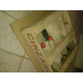 Cajón De Cinzano Antiguo Completo