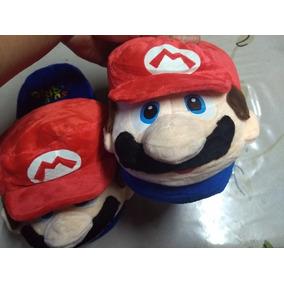 Pantuflas Super Mario Chicas/ Sonic Grandes
