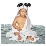 Manta Fleece Bebê Com Capuz Bordado 76 Cm X 102 Cm Lepper