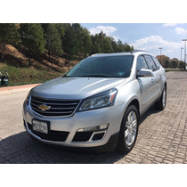 Chevrolet Traverse 2015 Piel Doble Qc Dvd Super Cuidada
