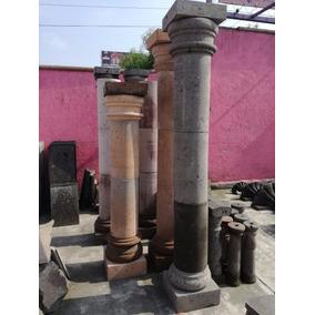 Columna De Cantera 2.40 De Altura 30 Cm De Diametro