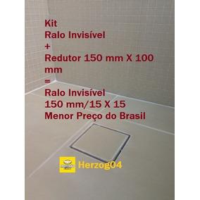 Comprar Ralo Invisivel Oculto Quadrado 15x15 150 Mm