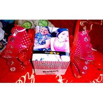 Caixa Personalizada Com Foto Para Lembrancinha-4unidades