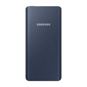 Bateria Externa Delgada 10,000mah Azul + Type-c Samsung