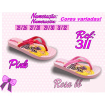 Chinelo Infantil Barbie