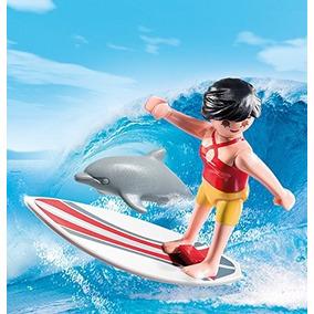 Playmobil Special Surfista Con Tabla De Surf Art. 5372