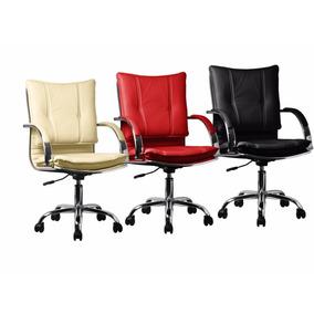 Cadeira Escritório Executiva Cores Rainbow Desenho Italiano