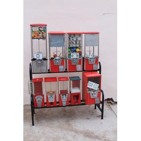 Rack Para Máquinas Chicleras Envío Gratis