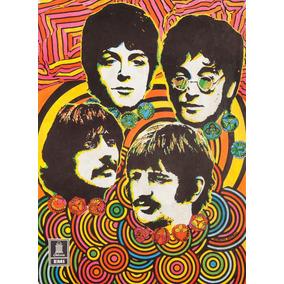 Poster Beatles Pop Art Tamanho A3 P1734