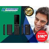 Celular Ipro V7 Flip, Cámara, Radio, Doble Chip