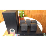 Dvd Lg + Home Theater Lg Parlantes Y Buffer