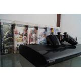Ps3 Super Slim + 5 Juegos (playstation 3)