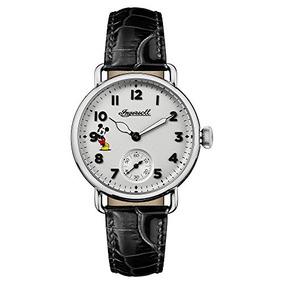 Reloj Ocasional Del Acero Inoxidable Y Del Cuero Del C W21