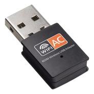 Adaptador Receptor Wireless Usb Wi-fi 5ghz Dual Band