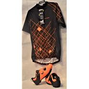 Kit Tmb/speed Masc Camisa Sxtr+sapatilha Grool(presilha )