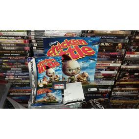 Chicken Little De Game Boy Advance En Español,caja,juego Y +
