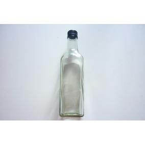 Botella De Vidrio 500 Ml 12 Pz Bebidas Tequila Jugo