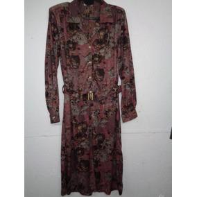 Pag 577; Vestido Señoras M/l C/sinto Talle 48-50-54-56-58-60