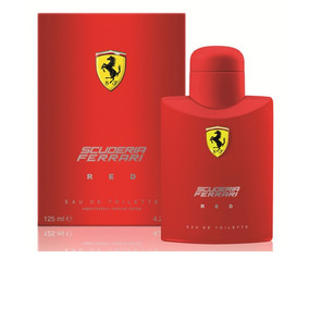 Perfume Ferrari Red Masculino 125ml Original Nova Embalagem.