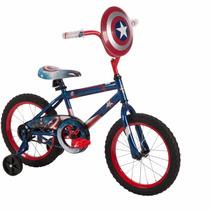 Bicicleta Huffy Capitán América Rodada 16
