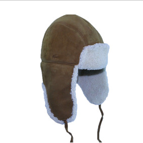 Gorro Tipo Aviador Lacoste (sheep Shearling Aviator)original