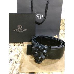 Cinturón Philipp Plein , Cabeza Trigre Negro