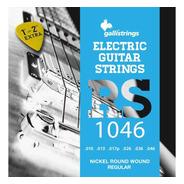 Cuerdas Guitarra Electrica 10-46 Gallistrings Doble 1era 2da