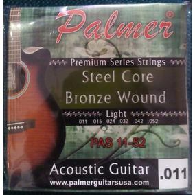 Cuerdas Para Guitarra Electroacustica Palmer 0.11